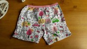 Celana anak perempuan Boxer JESSIE & MIKE (hello kitty in love paris putih)