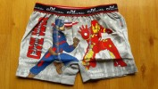 Celana anak laki laki Boxer JESSIE & MIKE (civil war captain america & iron man abu abu)